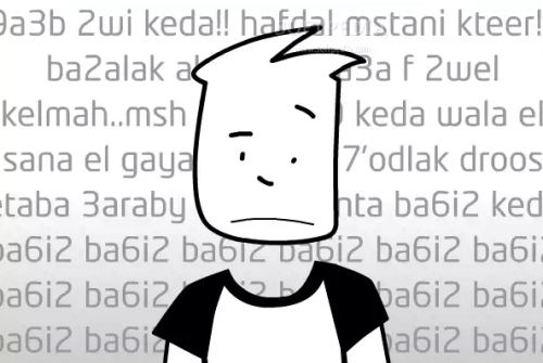عربيزي - لغة الأرقام