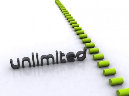الإستضافة غير المحدودة لمواقع الانترنت
