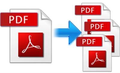 شرح طريقة تقسيم ملف PDF