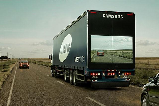 الشاحنة الآمنة من سامسونج