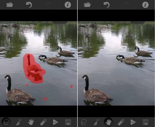 أزل العناصر المشوهة لصورك بضغطة زر