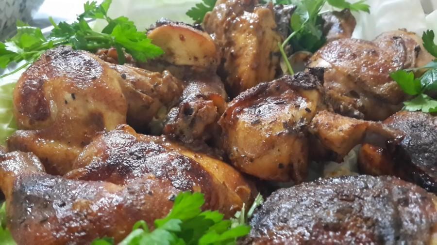 دجاج بالفرن بالخلطة المميزة