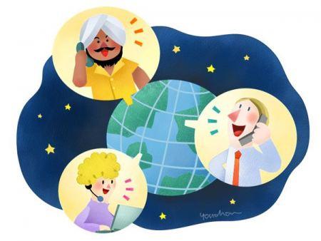مفاتيح الإتصال الدولية لكافة دول العالم
