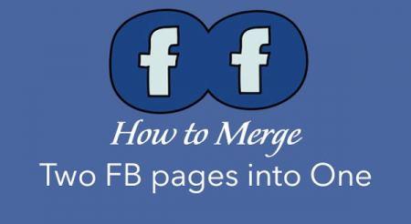 دمج صفحتي فيسبوك في صفحة واحدة